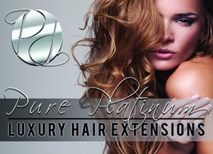 Pure Platinum Hair Extensions