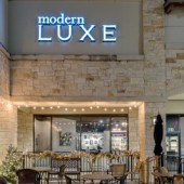 Modern LUXE Salon Hair Salon Frisco Texas Hair Stylist Salon Sign