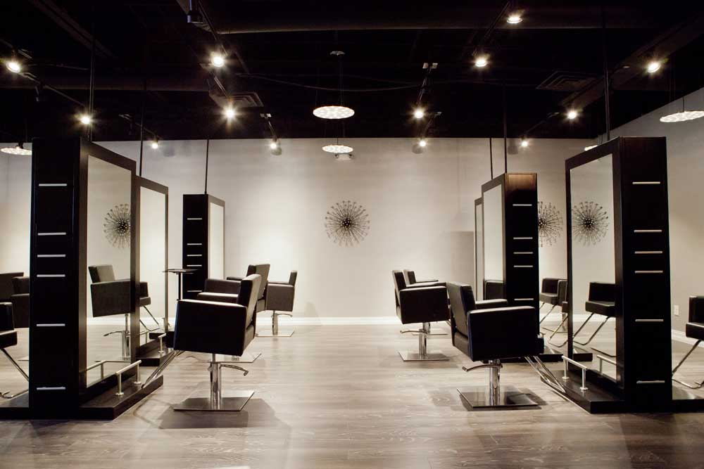 Luxe chairs modern luxe salon hair salon frisco texas 75034 for About beauty salon
