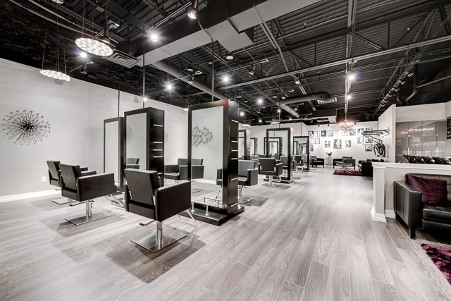 beauty hair salon modern luxe salon in frisco tx. Black Bedroom Furniture Sets. Home Design Ideas